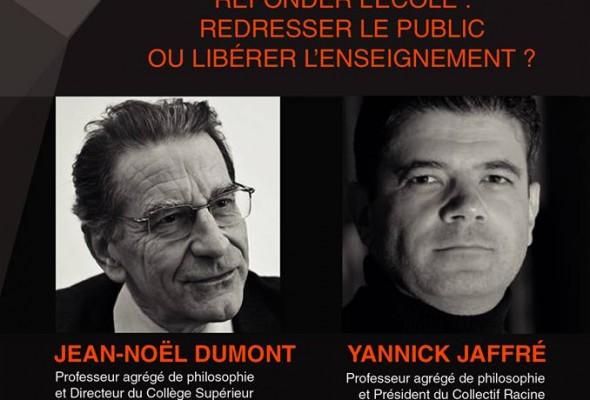 Dimanche 9 février 2014, à Lyon : débat entre Yannick Jaffré et Jean-Noël Dumont (VIDEO)