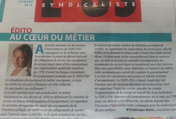 Communiqué de presse d'Alain Avello, secrétaire général du Collectif Racine : Les syndicats de l'éducation trahissent l'école de la République