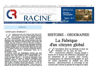 « La Lettre » du Collectif Racine (n°1 | août 2014)