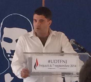 Yannick Jaffré, président du Collectif Racine, aux universités d'été du FNJ à Fréjus (VIDEO)