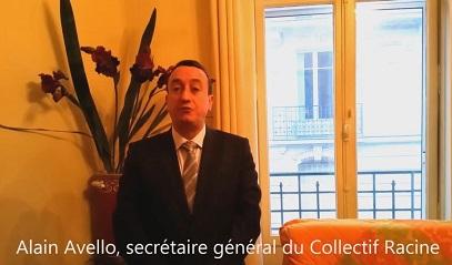 Vœux du Collectif Racine pour l'année 2015 (VIDEO)