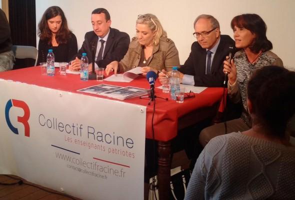 Résumé de l'allocution de Valérie Laupies, vice-présidente du Collectif Racine (Lille, 17 octobre 2015)