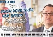 Conférence : «Ecole : un enjeu pour toute une nation» (Marseille, 23 avril 2016) (VIDEO)