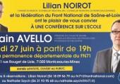 Conférence d'Alain Avello à Montceau-les-Mines (27 juin 2016)