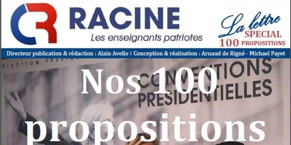 LA LETTRE DU COLLECTIF RACINE n°11 – septembre 2016
