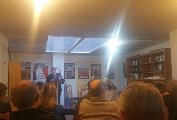 Conférence d'Alain Avello, président du Collectif Racine, à Bordeaux (17 décembre 2016)