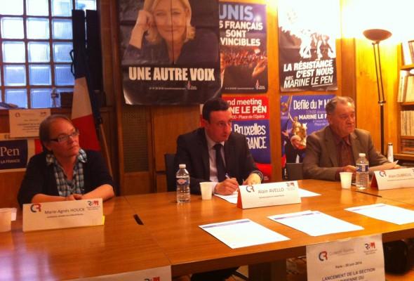 Lancement de la section parisienne du Collectif Racine (Paris, 20 juin 2014) (VIDEO)