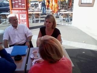 Actualité des sections : réunion du Collectif Racine-44 (27-9-14)