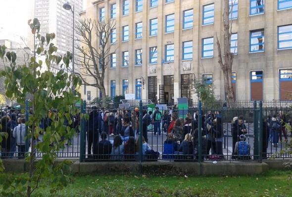 Communiqué de la section parisienne du Collectif Racine sur le blocage des lycées – 17 novembre 2014