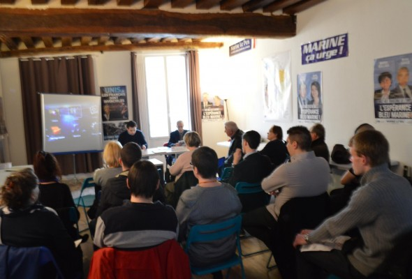 Conférence du Collectif Racine 77 : formation professionnelle et rôle d'un élu patriote