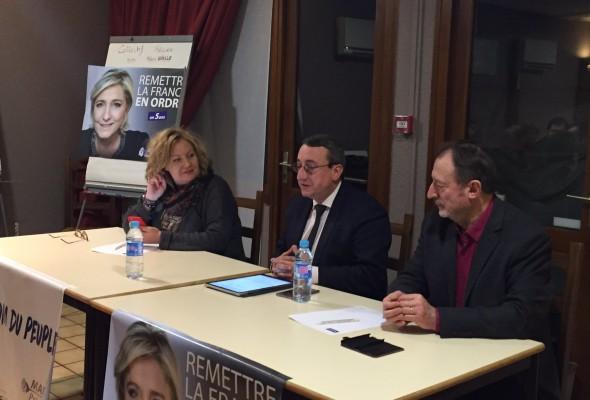 Conférence d'Alain Avello, président du Collectif Racine, à Besançon (12 janvier 2017)