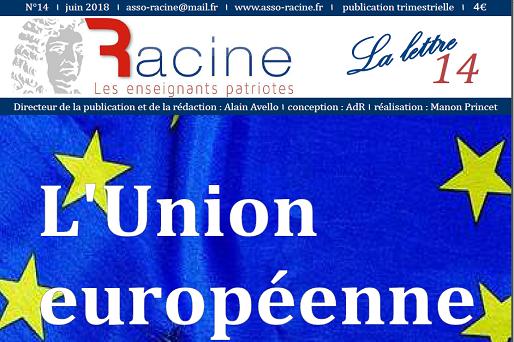 « La Lettre » de Racine (n°14 | juin 2018) (32 pages)