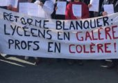 Communiqué de presse d'Alain Avello, pdt de Racine : «Réforme du lycée : face aux intimidations du ministre, le mouvement doit se durcir !»