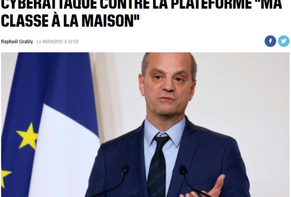 Communiqué de presse d'Alain Avello, président de Racine : «Enseignement à distance : le déshonneur du ministre Blanquer»